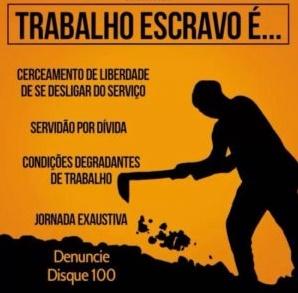 Denuncie Trabalho Escravo
